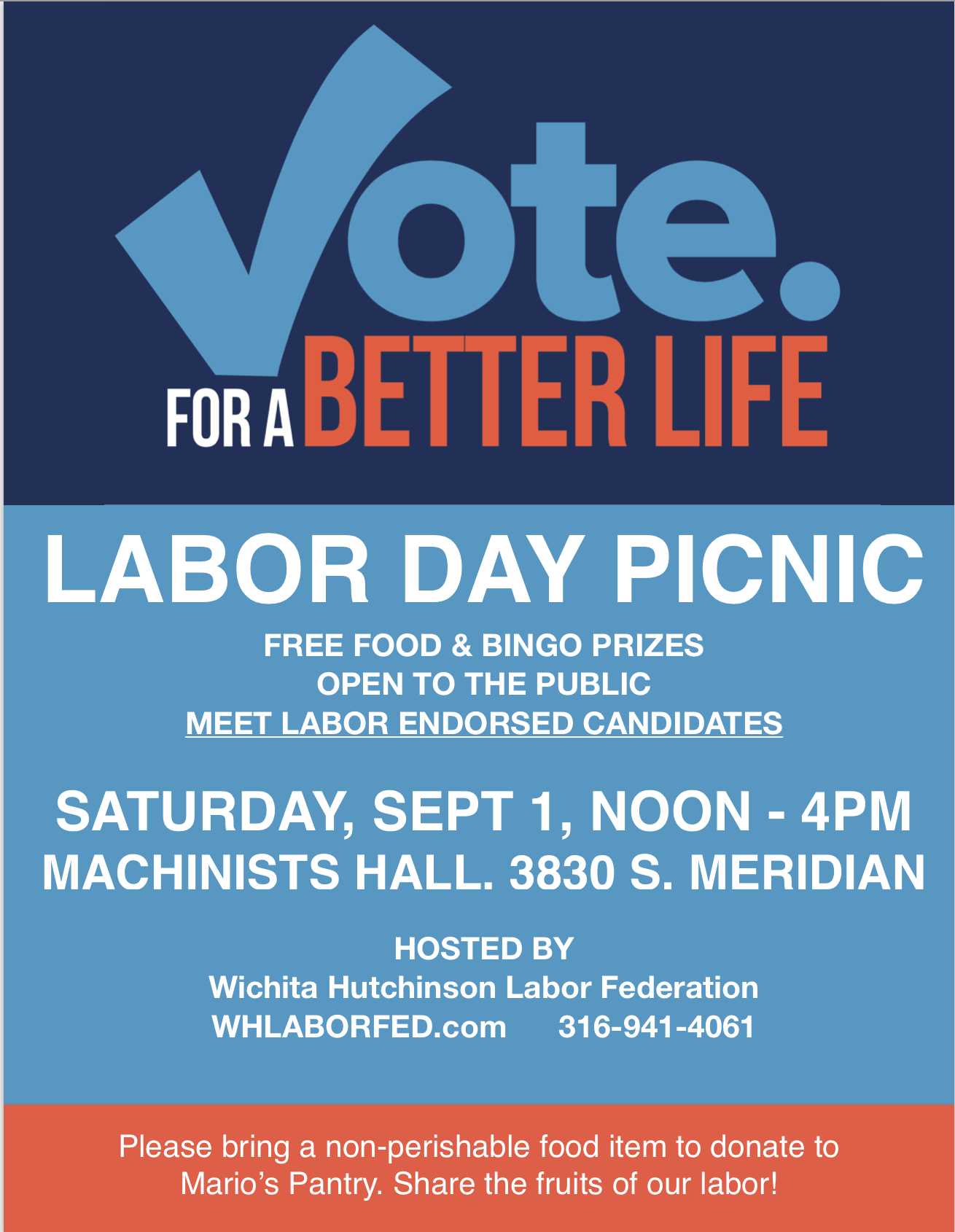 Labor Day Poster 2018
